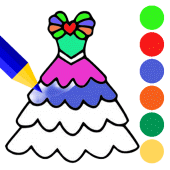 Fashion Dress Coloring Book & Painting Apk